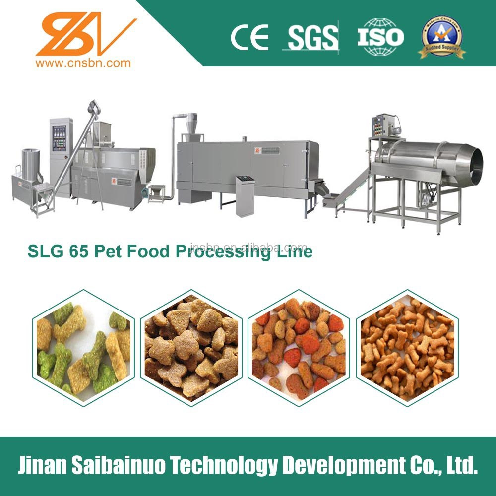 New Tech Advanced Technology Automatic pet Food Extruder machine