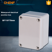 IP66 weather proof junction box custom ABS plastic enclosures for electronics