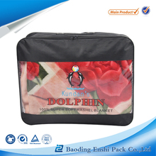 pvc quilt blanket cover packaging bags saled on china with free sample