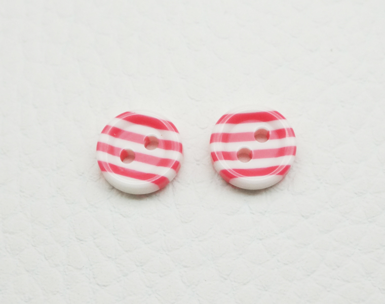 Stripe Buttons for Shirt Round 4 Holes Buttons for Baby for Woman for Children