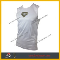 Custom OEM your design 100% Polyester sublimated running singlet