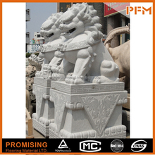 Chinese foo dog statue stone lion promotional sculpture