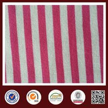 Feimei stripe polar fleece fabric stripe knit fabric