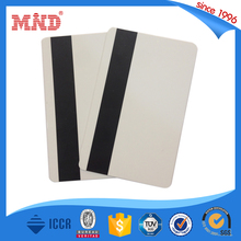MDP149 Hi-Co Blank PVC Magnetic Stripe Card with 3 track Printable By Plastic Card Printer