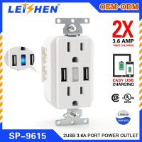 german electrical plug and socket 125V 15A/20A ul socket