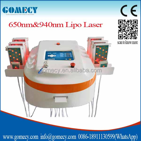 Near-Infrared Lipo laser Lifting Slimming Machine / lipo laser machine fda approved