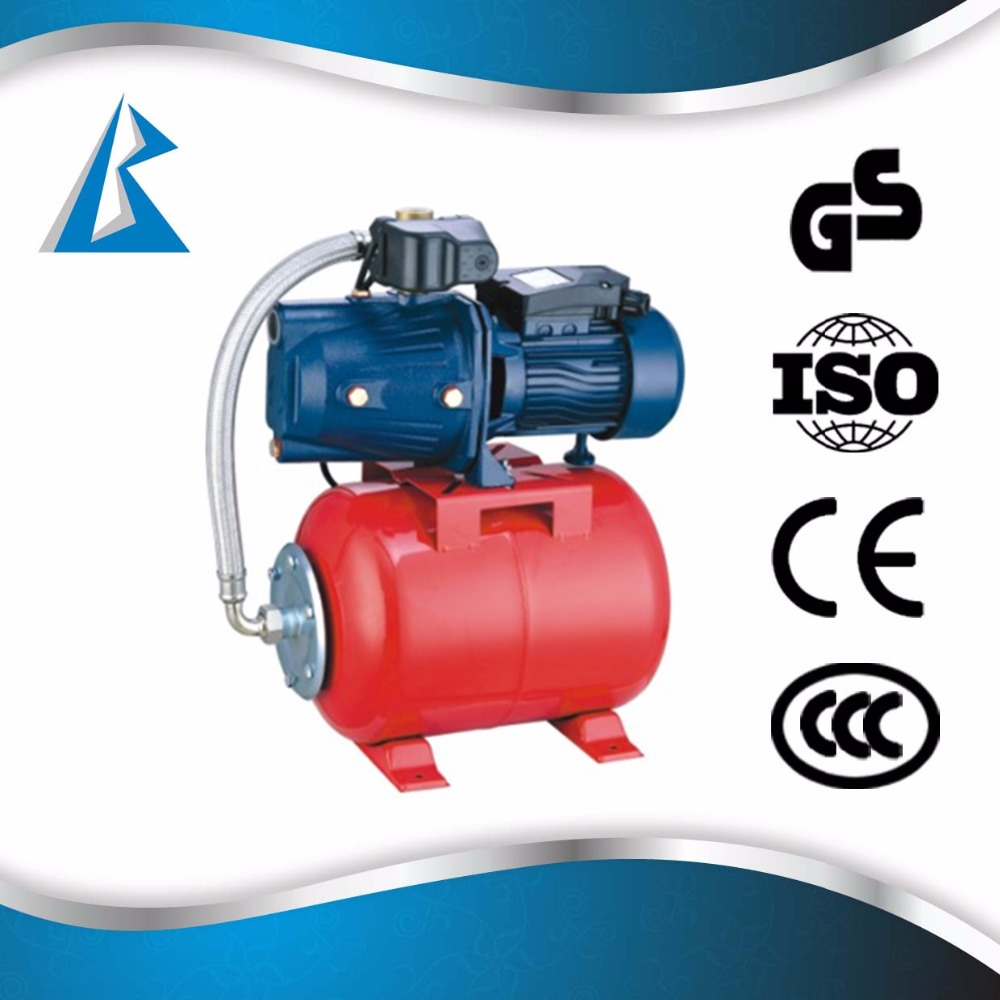 automatic controller stainless steel pump with pressure tank & switch AUJET water pump Russia