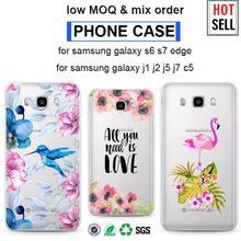 New 3d phone case for iphone 6 plus OEM cutom printed case for samsung galaxy note 3 galaxy s7 NOTE 7