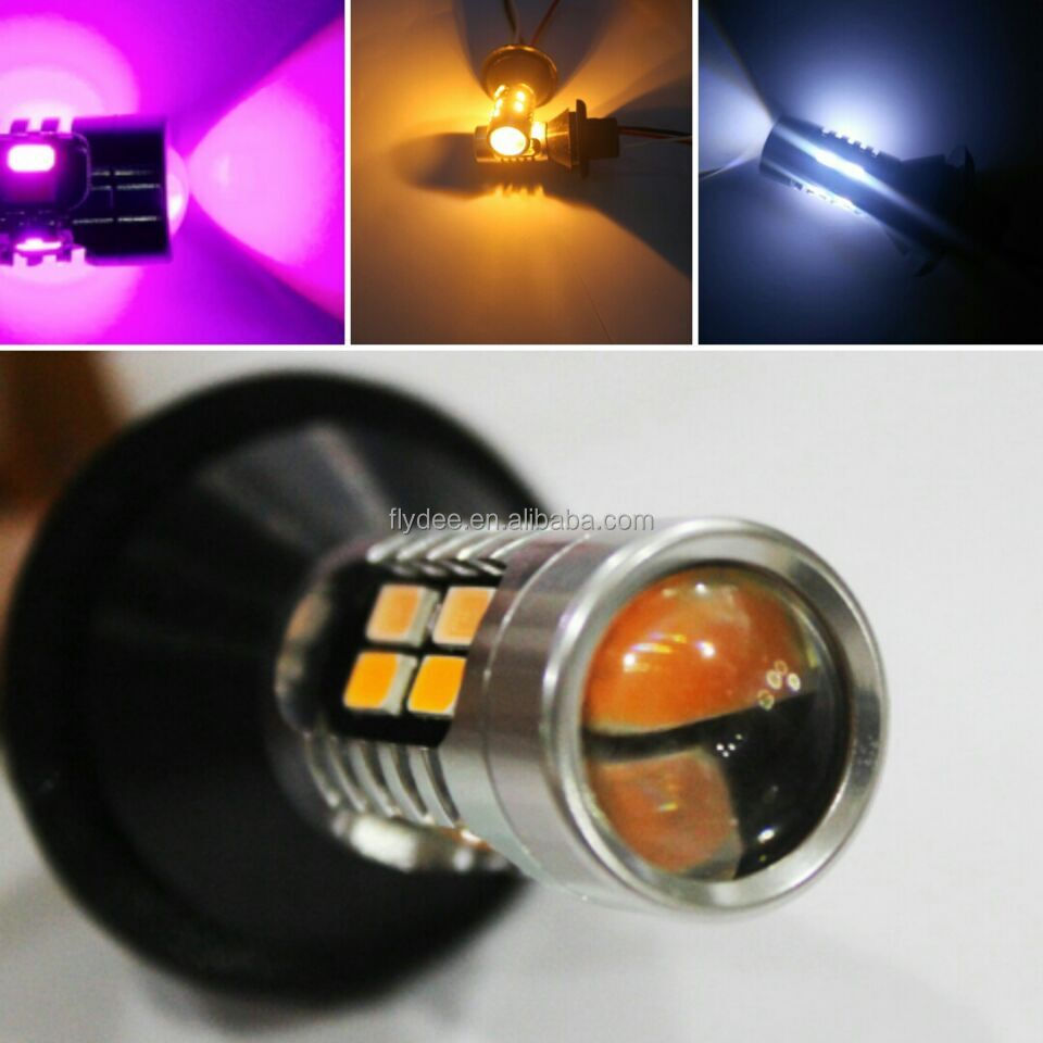 High Power 20W LED White Amber Yellow Pink Switchback Turn Signal with canbus error free for Honda Hrv