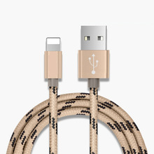 Wholesale 3FT 6FT 10FT Fast Lighting Nylon Braided Car 8 Pin Charger Usb Data Cable For Iphone 6 7 8 <strong>X</strong> For Apple