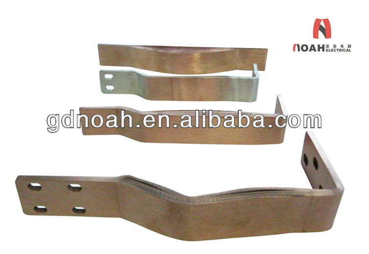 Bending Copper Laminate Foil Power Transformer Soft Connector Manufacturer