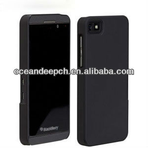 pc hard case for Blackberry Z10 rubberized case mobile phone case new product for 2013