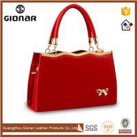 All Name Brand Red PU Leather Bag and HandbagsMedium Discount Designer Purses