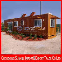 Sunhill Single Layer sandwich panel beautiful 20ft container room