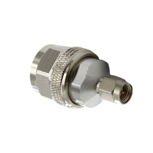 Brass N Male to SMA Male Straight RF connector With coaxial adapter