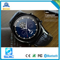 2015 New D360 3G Smart Watch Phone Android Waterproof IP67 With GPS Wifi MTK6572