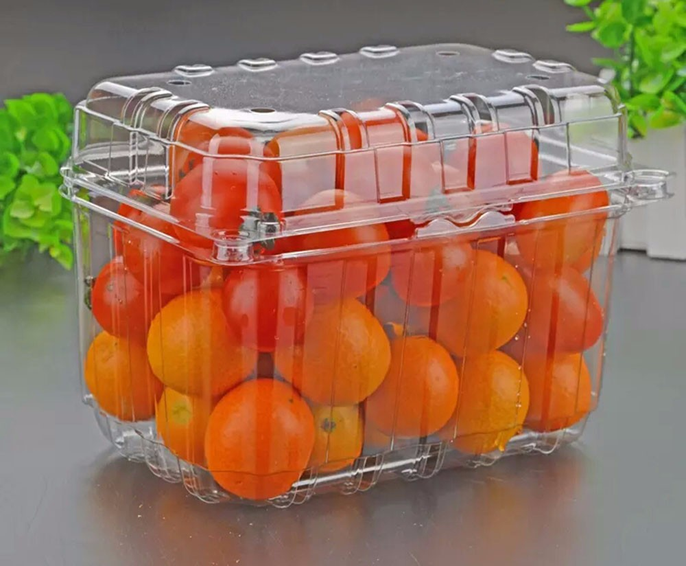 0.3-0.8mm disposable fruit and vegetable tray fruit packaging box