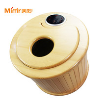 Kneading Foot Massager With Heat Professional Wooden Footbath Massager