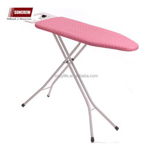 Durable metal mesh top anti -hot cotton ironing board cover the best price of ironing board