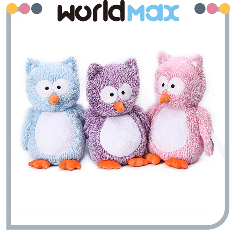 New Arrival Soft Cartoon Plush Toy Owl For Baby