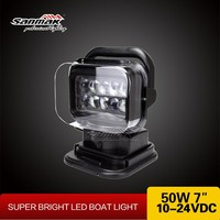 Super Bright 50W LED Outdoor Search Light , 200m Wireless Remote Control