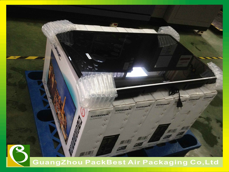 TV Protective Packaging column air bag packing