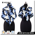 Wholesale Assorted Silk Scarf Custom Digital Printing India Silk Scarf