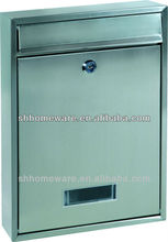 stainless steel wall mounted mailboxes