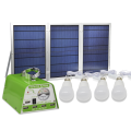 Portable Solar Home Lighting System 30W Solar Panel 4 LED Bulbs 10W and Multiple Phone Charger (YH1003)