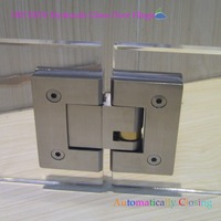 China Suppliers Contemporary Style Bathroom & Shower Frameless Construction Used Frame to Frame Glass Door Hinge /Clamp
