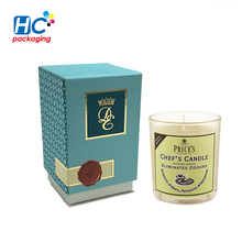 High-end Luxury Design Custom Package Paper gift Boxes candle