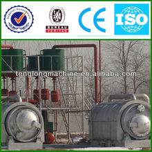 Newest hot-sale waste/crude oil refinery machinery with CE&ISO&BV