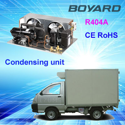r404a hermetic Boyard compressor 2 hp refrigeration condensing units for walk in cooler small refrigeration unit