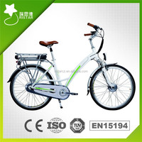 New Style 36Volt 10AH 250W Made in China 26Inch Road Electric Bike RSEB-201