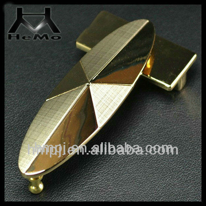 2013 New Fashion alloy gold tabular belt buckle
