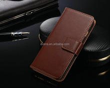 Wholesale Cell Phone Cover Flip Wallet Cases for Samsung galaxy s5 i9600 with Card Holder Magnetic Stand