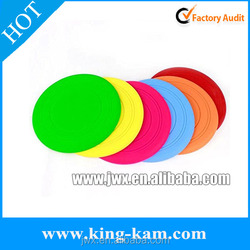 Silicone ultimate flying disc frisbee flying disc for dogs plastic frisbee promotional