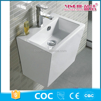 China alibaba vanity outdoor white portable wash basin for hair salon