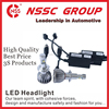 NSSC auto led headlight 38w 9-32V 38w 5000lm COB LED replaces halogen and HID bulbs H13
