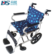 ISO standard Breathable manual baby wheelchair for disabled