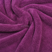 Single-faced coral fleece,Top sale factory direct microfiber fabric for Mophead cloth wholesale