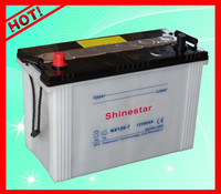 12V80AH Dry Charged atlas car battery