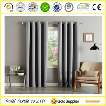 good quality blackout fire retardant hotel curtain fancy grommet top hotel curtain