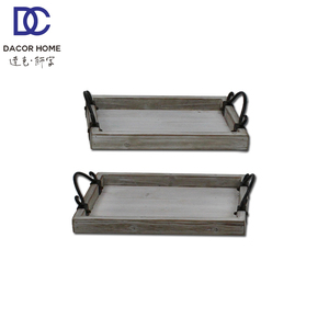 Serving Food Fruit Wood Wooden Dry Metal Tray