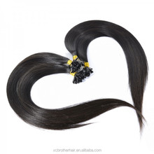 Best Quality Factory Selling Wholesale Remy Indian U-Tip Human Hair Extensions pre-bonded hair extensions