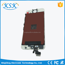 For iphone 5 lcd with digitizer touch screen,touch screen digitizer for iphone 5 5g mobile phone lcd display