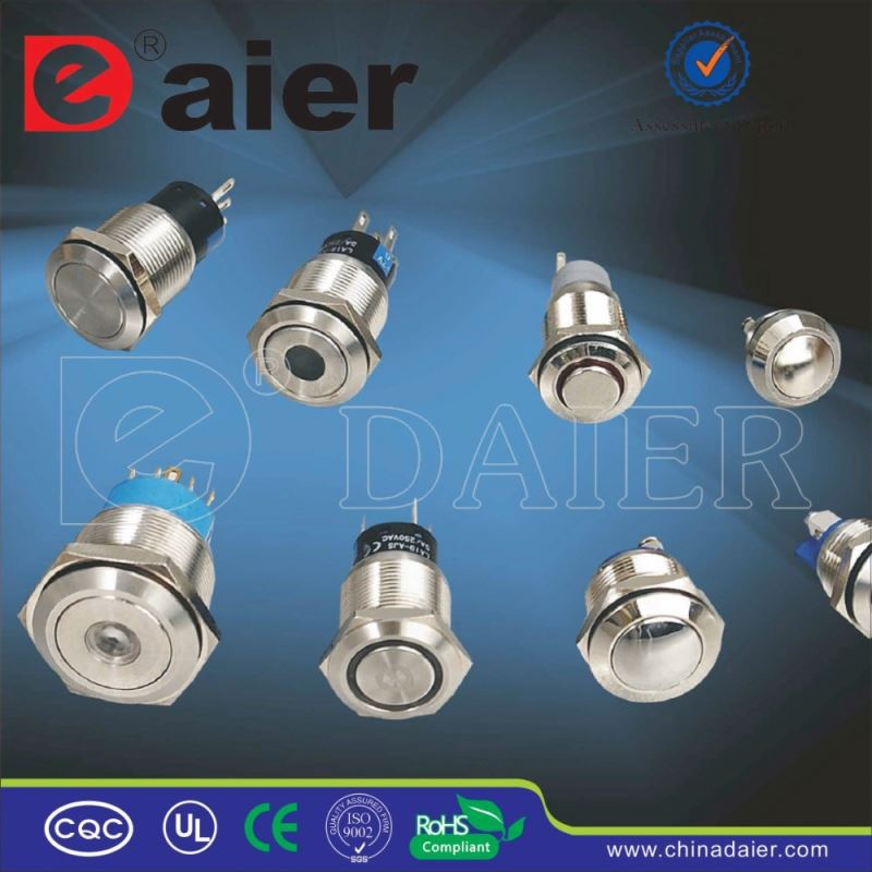 Daier 40mm 120 volt push button switch