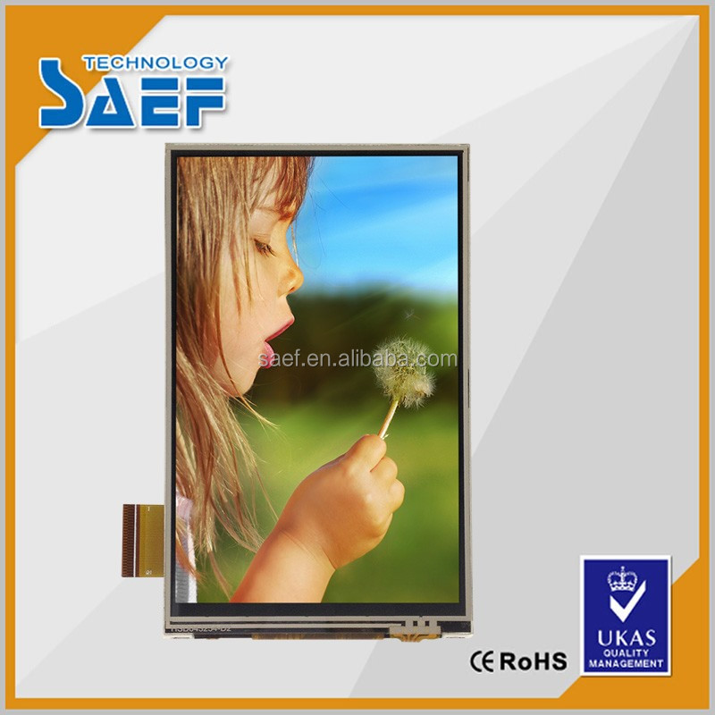 all viewing angle 4.3 inch 480*800 TFT lcd moudle RGB interface touch screen panel