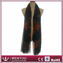 Wholesale high quality lady soft loop voile esarp scarf