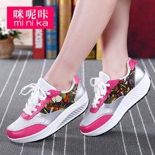 Colorful fashion sneaker women slim up shoes toning shape up shoes